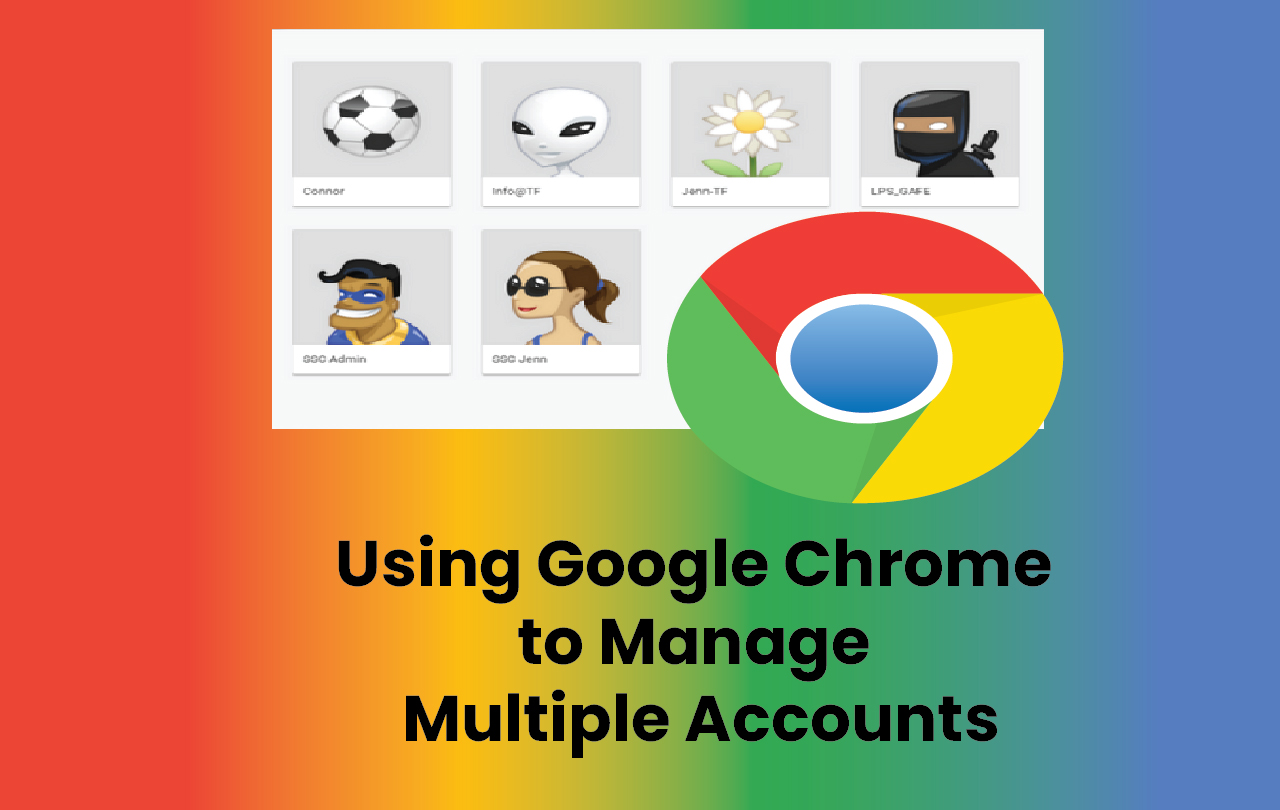 how to change your default google account