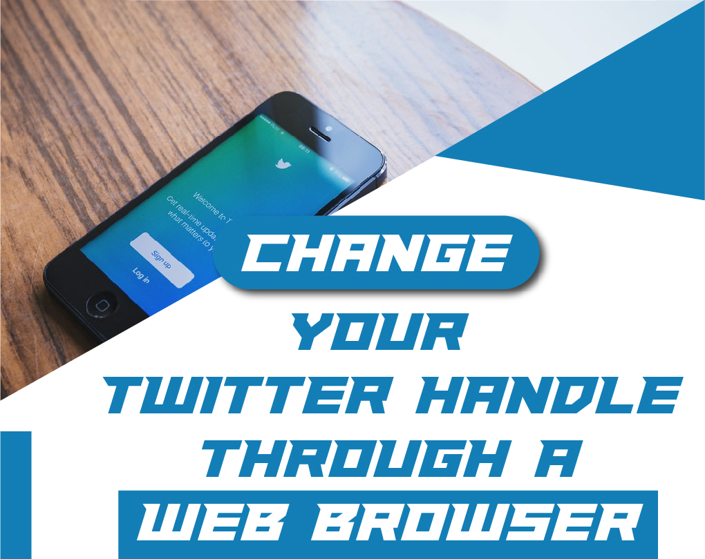 How To Change Your Handle On Twitter