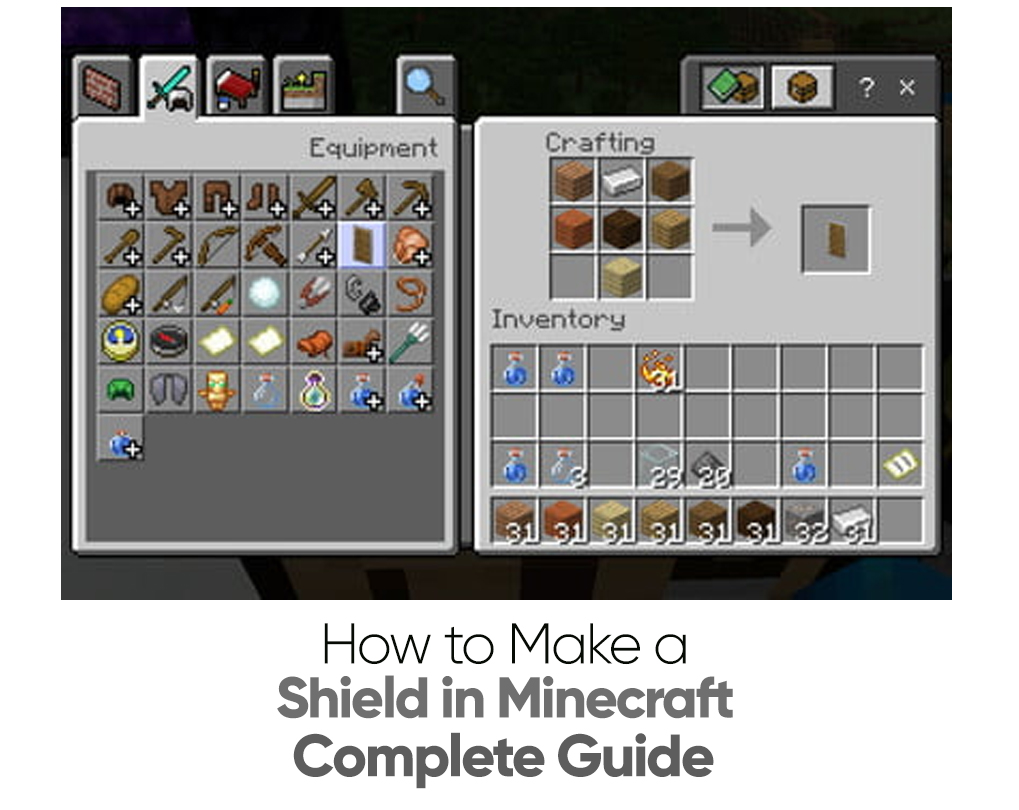 How to Make a Shield in Minecraft – Complete Guide