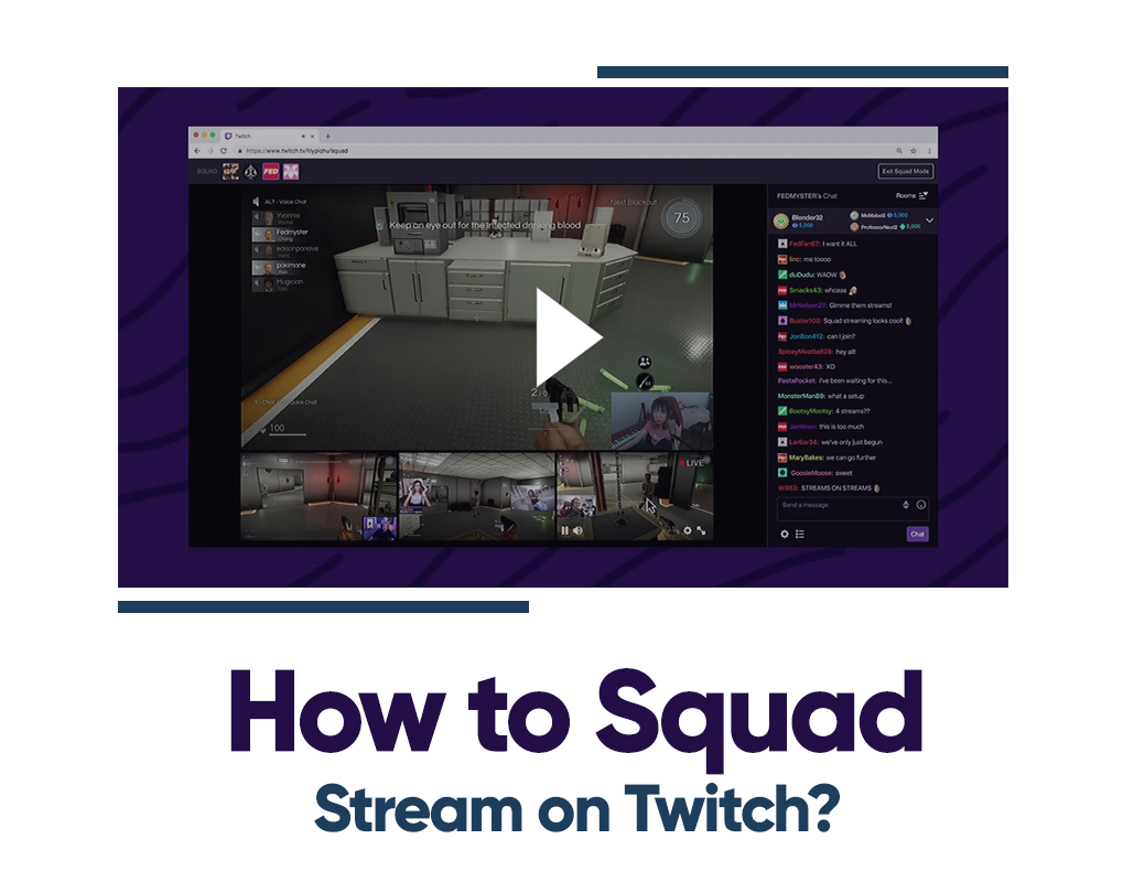 how to use squad stream on twitch
