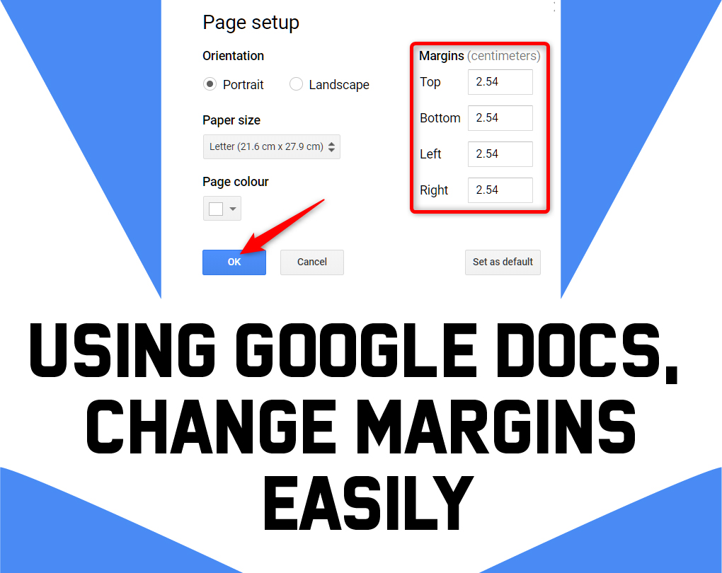 How To Change Top And Bottom Margins In Google Docs