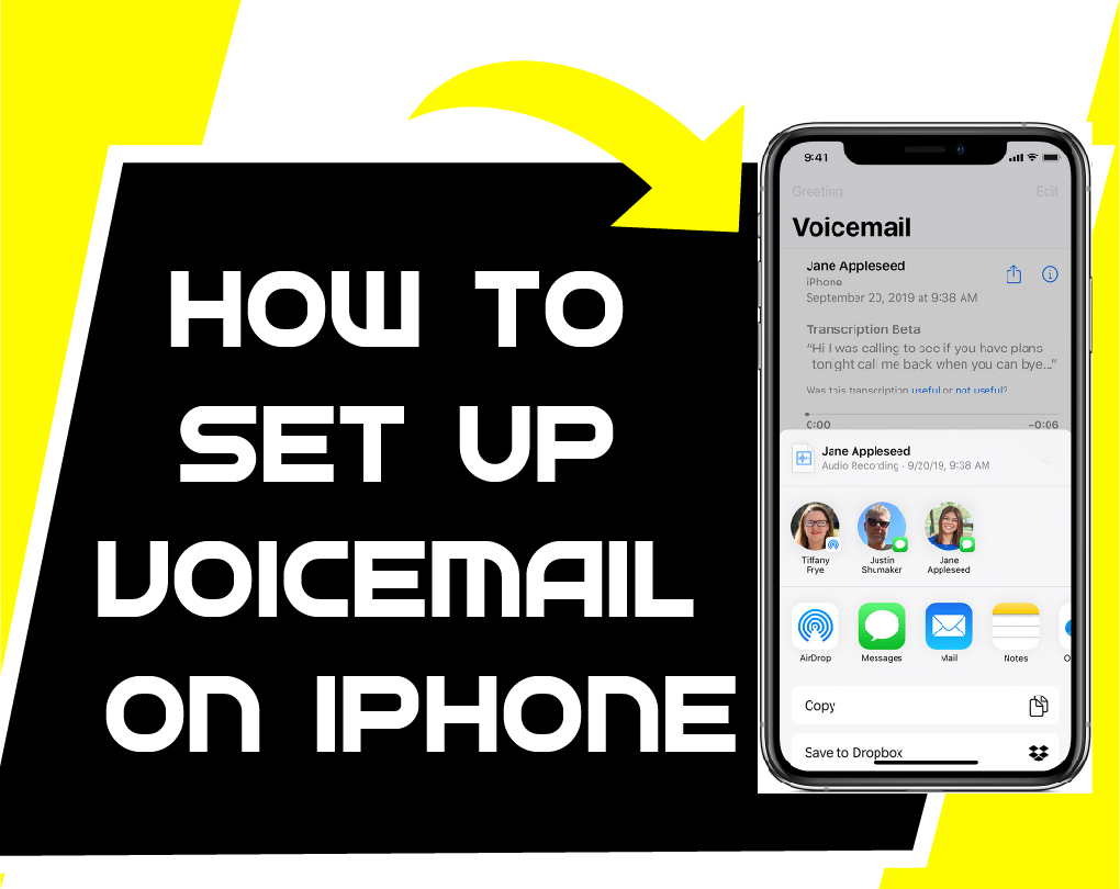 How To Set Up Voicemail On Iphone 8