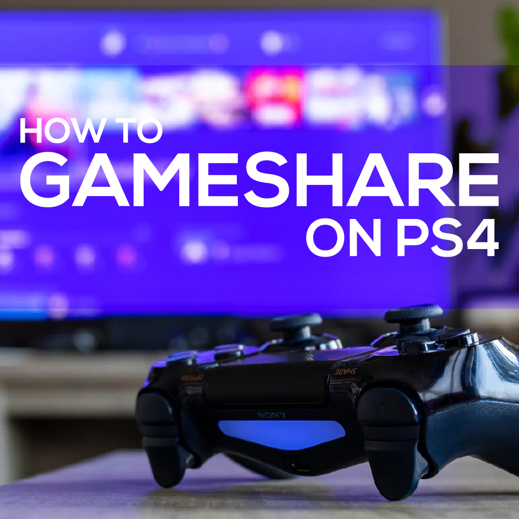 How To Gameshare Dlc On Ps4