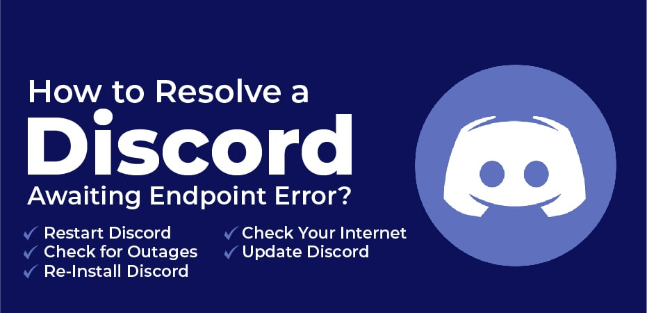 Discord Stuck On Awaiting Endpoint