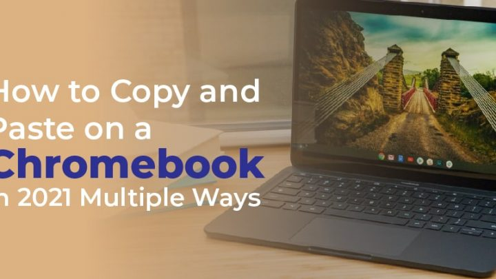 How to Copy and Paste on a Chromebook in 2021: Multiple Ways